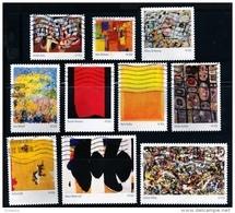 Etats-Unis / United States (Scott No.4444a-j - Abstract Impressionists) (o) Set - Oblitérés