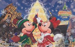Télécarte Privée NEUVE Japon - DISNEY SEA - NOEL - CHRISTMAS WISHES 2010 - Japan MINT Phonecard - Disney