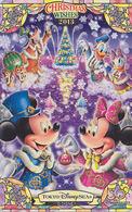 Télécarte Privée NEUVE Japon - DISNEY SEA - NOEL - CHRISTMAS WISHES 2013 - Japan MINT Phonecard - Disney