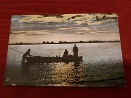 KHARTOUM, SUNSET ON NILE, SUDAN - Soedan