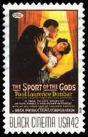Etats-Unis / United States (Scott No.4340 - Cinema Noir / Black Cinema) (o) - British Virgin Islands