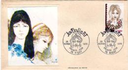France Fdc Thiaude Yv:2003 Mi:2075 Juvexniort Niort 25-2-78 - 1970-1979