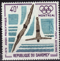 DAHOMEY  PA 242  * *   Jo 1976 Natation Plongeon - High Diving