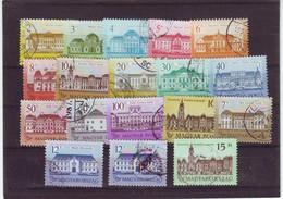 "1986 - 1992 Hungary "" Hungaryan Castles "" 18 Pcs - Used Set - Hungary"