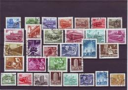 Hungary Transport 1963/1964/1969/1972 = 23 Pcs + Automate 8 Pcs = 31 Pcs - Used Set - Used Stamps