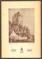 1796 - 1946 Quebec Canada Joseph & Company Limited 150th Anniversary Banquet Menu @ Chateau Frontenac - Menus