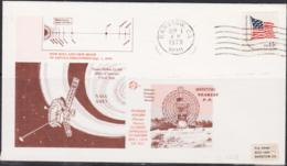 SPACE  - USA-   1979 NASA AMES  SATURN 1ST PICTURES ILLUSTRATED  COVER WITH BARSTOW POSTMARK  AUG 26  1979 - Covers & Documents