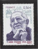 FRANCE 2010 ABBE PIERRE YT 4435 NEUF** - - France
