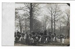 Brasschaat - Militairen - Camp - Fotokaart. - Brasschaat
