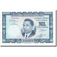 Billet, Equatorial Guinea, 1000 Pesetas Guineanas, 1969, 1969-10-12, KM:3, NEUF - Guinée Equatoriale