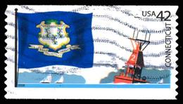 Etats-Unis / United States (Scott No.4281 - Drapeaux Des états Americains / State Flags) (o) - United States