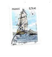 300ème Anniversaire Du Débarquement Des Français à L'Ile Maurice 4979 Oblitéré 2015 - Gebraucht