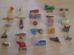 A Prix Cassé !!! LOT18-206 De 25 Pin's En Très Bon état , Tous Différents , Avec Leurs Attaches - Badges