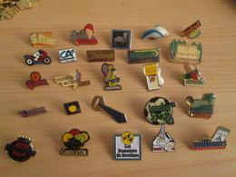 A Prix Cassé !!! LOT18-198 De 25 Pin's En Très Bon état , Tous Différents , Avec Leurs Attaches - Badges