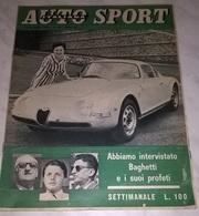 AUTO SPORT ITALIANA N.15 16/7/61 GIULIETTA/ FERRARI/ CRONOSCALATA TRENTO-BONDONE/ MOSS - Motori