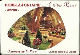 4766 Pochette De 8 CPM - Journées De La Rose - Doué La Fontaine - Doue La Fontaine