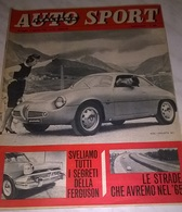 AUTO SPORT ITALIANA N.17 30/7/61 ALFA GIULIETTA S2 / CRONOSCALATA TRIESTE-OPICINA/ PUB. FLAVIA - Motori