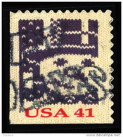 Etats-Unis / United States (Scott No.4213 - Noël / 2007 / Christmas) (o) P2 [Perf 11.25 X 11] - United States