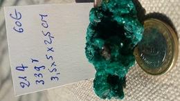 DIOPTASE (congo) 33grammes - Minerals
