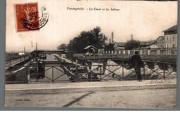 Cpa 54 Varangéville Le Canal Et Les Salines Déstockage à Saisir - Other Municipalities