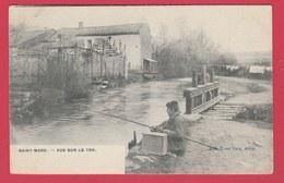 Saint-Mard - Vue Sur Le Ton ... Jeune Pêcheur à La Ligne -1906 ( Voir Verso ) - Virton