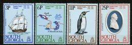 Géorgie Du Sud, 1978, Yvert 73/76, Scott 52/55, MNH - Géorgie Du Sud