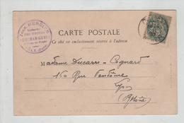 Généalogie Ducarre Cognard Lyon Tampon Usines Audemar Guyon Forges Dole 1903 Château De Couzan - Genealogie