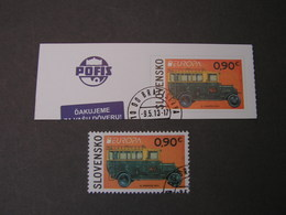 Slovensko Post Auto ,  Europa Marke 2013 - Gebraucht