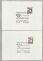 P 378) Österreich 1979 SSt GRAZ: Naturschutz Bauen In Der Landschaft (Ziffer 2,3) - Umweltschutz Und Klima