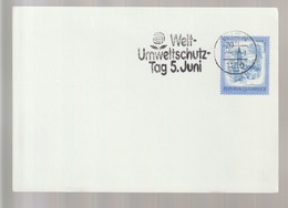 P 376) Österreich 1982 SSt Wien: Welt-Umwelt Schutz-Tag - Umweltschutz Und Klima