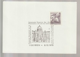 P 375) Österreich 1979 SSt Wien: Internationales Symposium über Pflanzenschutz In Land- Und Forst-Wirtschaft - Umweltschutz Und Klima