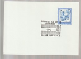 P 371) Österreich 1983 SSt Bruck A D Leitha: Eröffnung Rundwanderweg MARC AUREL - Ferien & Tourismus