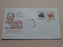 1564 - 1964 GALILEO GALILEI 4° Centenario  Della Nascita : 15-2-64 ( See/voir Photo ) FDC Capitolium 69 ( N° 4242 ) ! - F.D.C.