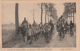 Rare Cpa Convoi De Prisonniers Allemands Près De Nieuport - 1914-18