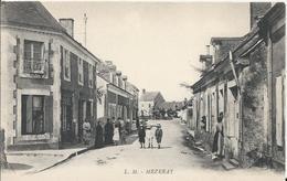 Carte Postale Ancienne De Mezeray Ayant Pas Voyagée - France