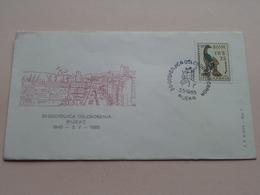 20 - Godisnjica Oslobodenja Rijeke 1945 - 3.V -1965 : Stamp RIJEKA 3 5 1965 ( See/voir Photo ) FD Rijeke Broj 7 ! - Croatie