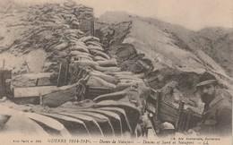 Rare Cpa Les Tranchées Dans Les Dunes De Nieuport - 1914-18