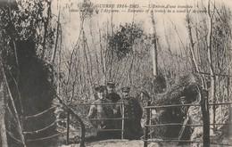 Rare Cpa L'entrée D'une Tranchée Dans L'Argonne - 1914-18