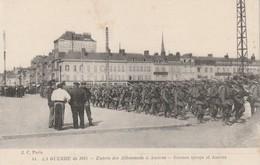 Rare Cpa Entrée Des Allemands à Amiens - 1914-18