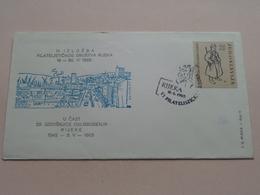 20. Godisnjice Oslobodenja Rijeka 1945 - 3.V -1965 : Stamp RIJEKA 16 6 1965 ( See/voir Photo ) FD Rijeke Broj 9 ! - Croatie