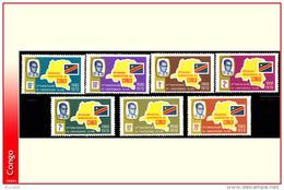 Congo 0713/19** Independance MNH - Neufs
