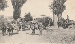 Rare Cpa Cavalier Français Et Anglais Pendant Un Défilé De Turcos - 1914-18