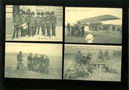 Beau Lot De 20 Cartes Postales De L' Armée Belge Soldats Soldat Avion Mooi Lot Van 20 Postkaarten Leger Soldaten Soldaat - Postcards