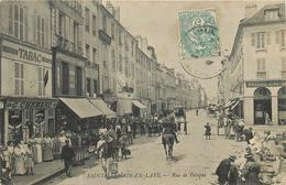 SAINT GERMAIN EN LAYE - Rue De Pologne,Tabac G Chenard. - St. Germain En Laye