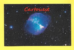 DUMBELL NEBULA  ( M27 NGC 6853 ) In VULPECULA ( Palomar Obsevatory ) - Astronomy