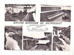 ENERGIE / ENERGY  - Wasserkraftwerk Genissiat / Grand Barrage De Genissiat - Ansichtskarten