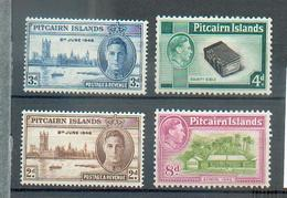 A 210 - PITCAIRN Islds - YT 9-10 */ 17-18 * - Stamps