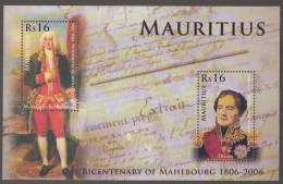 Bertrand-Francois, French Naval Officer Of East India Co, Decaen Governor General Of Pondicherry & Mauritius, MS MNH - French Revolution