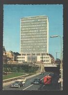 Bruxelles / Brussel - Buiding De La Prévoyance Sociale Et Tunnel - Vintage Car / Auto / Voiture - Tram / Tramway - Monumenten, Gebouwen