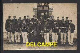DF / MILITARIA / REGIMENT À CONFIRMER / PHOTO DE 1908 DU PELOTON DE L'EXPÉDITEUR QUI ÉTAIT AU 26è DRAGON EN 1914 - Regiments